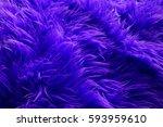 Blue Fur Texture As Very Nice...
