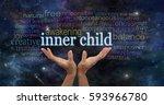embrace your inner child  ... | Shutterstock . vector #593966780