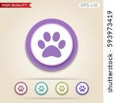 colored icon or button of...   Shutterstock .eps vector #593973419