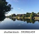 The River Thames At Teddington