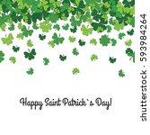 congratulation saint patrick's... | Shutterstock .eps vector #593984264