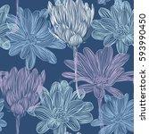 beautiful  bright  gentle ...   Shutterstock .eps vector #593990450