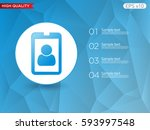 colored icon or button of... | Shutterstock .eps vector #593997548