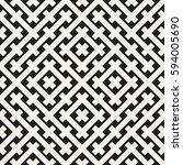 weave seamless pattern. stylish ... | Shutterstock .eps vector #594005690