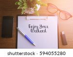 business concept   top view... | Shutterstock . vector #594055280