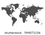 high quality gray simple vector ... | Shutterstock .eps vector #594071156