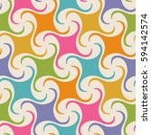 vector seamless pattern with... | Shutterstock .eps vector #594142574