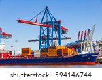 hamburg  germany   june 25 ... | Shutterstock . vector #594146744