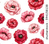 Seamless Floral Pattern Of...