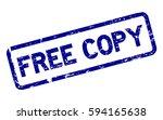 grunge blue free copy square...