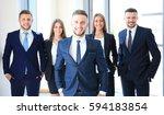 group portrait of a... | Shutterstock . vector #594183854
