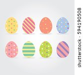 Easter Eggs Vector Illustratio...