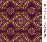 pattern for wallpapers ... | Shutterstock . vector #594217973