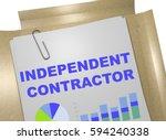 "3d illustration of ""independent ... | Shutterstock . vector #594240338"