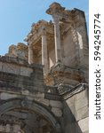 Part Of The Library Of Celsus ...