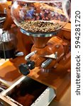 big coffee grinder with