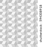 seamless gray geometric  vector ... | Shutterstock .eps vector #594308918