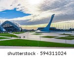 sochi  russia  january 15  2016 ... | Shutterstock . vector #594311024