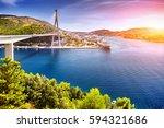 The Franjo Tudjman Bridge And...