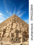 the giza pyramids | Shutterstock . vector #594322844