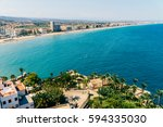 aerial panoramic view of... | Shutterstock . vector #594335030