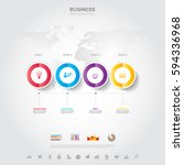business infographic business... | Shutterstock .eps vector #594336968