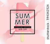 summer sale vector illustration....   Shutterstock .eps vector #594342524