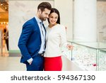 it's shopping and fun  time.... | Shutterstock . vector #594367130