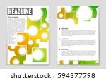 abstract vector layout... | Shutterstock .eps vector #594377798