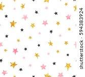 Stars Pattern. Vector Seamless...