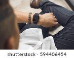 smartwatch | Shutterstock . vector #594406454