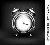 clock. vector | Shutterstock .eps vector #594428798