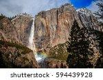 Snow   Rainbows On Yosemite...