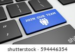 join our team sign and icon on... | Shutterstock . vector #594446354