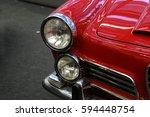car. details. | Shutterstock . vector #594448754