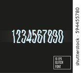 numbers vector illustration....   Shutterstock .eps vector #594455780