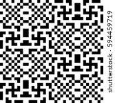 vector seamless pattern.... | Shutterstock .eps vector #594459719