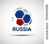 football championship banner.... | Shutterstock .eps vector #594464000