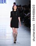 new york  ny   february 10  a... | Shutterstock . vector #594488603