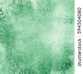 old green paper background with ... | Shutterstock . vector #594504080