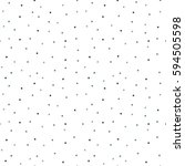 polka dots seamless pattern... | Shutterstock .eps vector #594505598