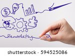 technology  internet  business... | Shutterstock . vector #594525086