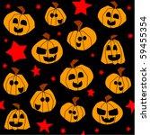 halloween seamless pattern ... | Shutterstock . vector #59455354