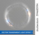 Light Lens Flare Vector Effect...