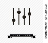 filter control isolated minimal ...   Shutterstock .eps vector #594686960