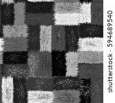 seamless checkered  pattern... | Shutterstock .eps vector #594689540