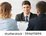 human resources commission... | Shutterstock . vector #594695894
