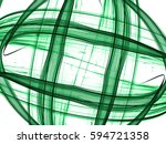 bright glowing abstract... | Shutterstock . vector #594721358