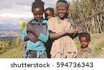 wenchi  ethiopia  november 2013 ... | Shutterstock . vector #594736343
