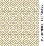 abstract geometric pattern with ... | Shutterstock .eps vector #594736910